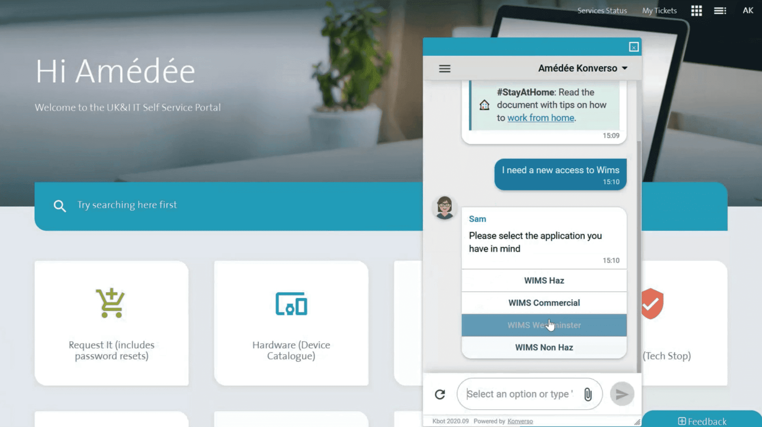 Virtual agent for customer support automation